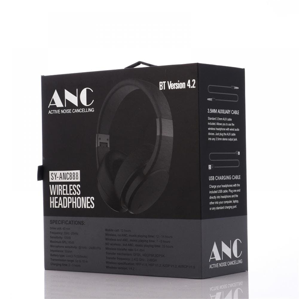 Bluetooth Stereo Headset w/ Active Noise Cancellation Image
