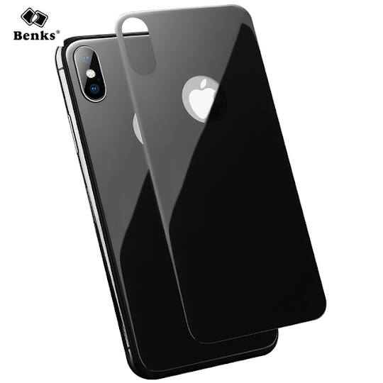 Rear glass shell protector for iPhone X XR XS (Max) Image