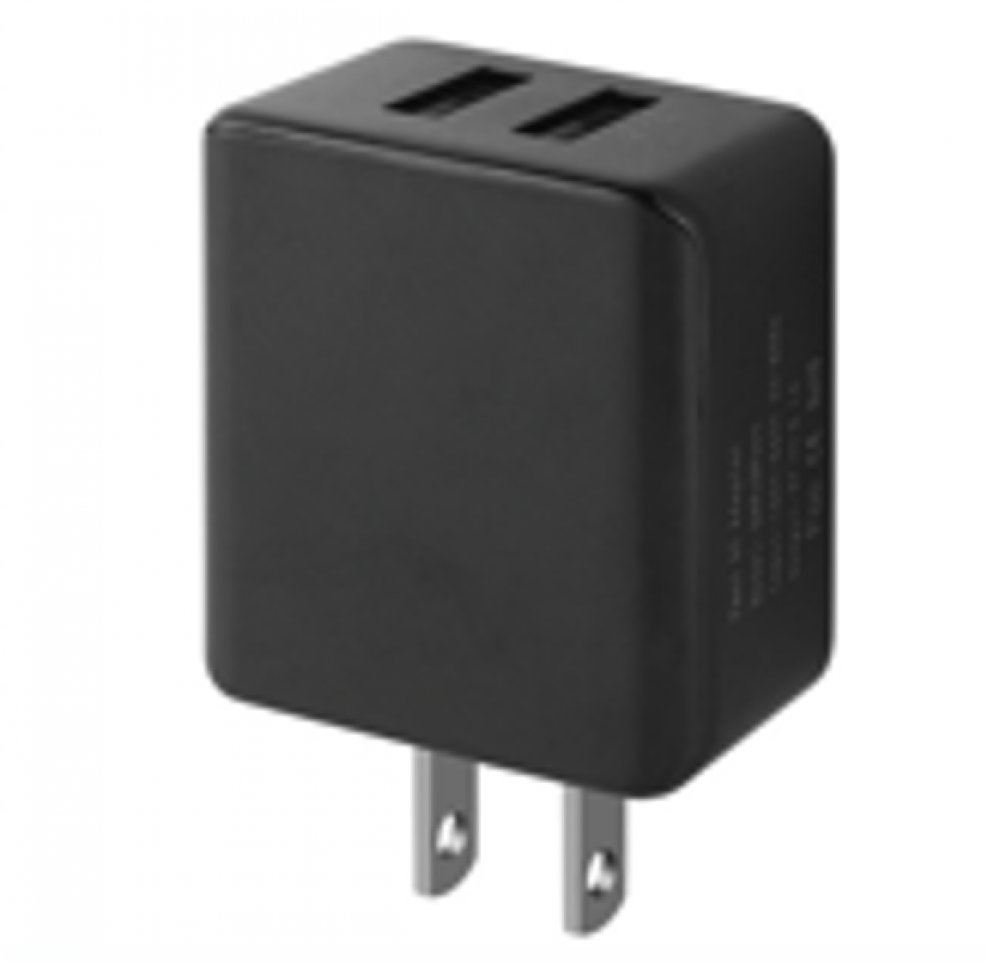 Dual USB Wall Charger (cETL Certified) - 3.1 Amp Image